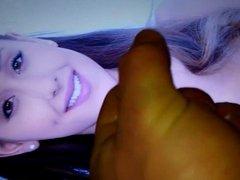Ariana Grande - Another cumshot tribute