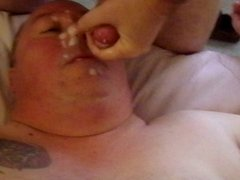 Hot Facial...heavy cum dump