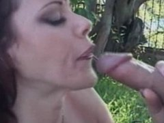 Young Guy Fucks Mature MILF Rubee At The Picnic!