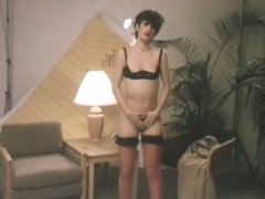 vintage brunette dirty talk and doggy-fuck