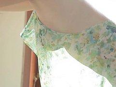 Anna Konno in Dress - non nude