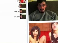 Girls kiss in chatroulette #2