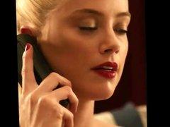 Amber Heard pedicure