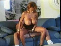 Hot Big Titted Red head Milf fucked hard