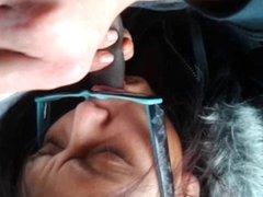 cuming in native mouth