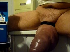 pumping a silicone dick