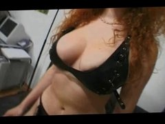 Great Tits Redhead Milf Is Toyed Before Sucking