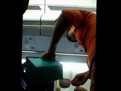 Candid Flight Attendant 2013-01-24 17.51.18