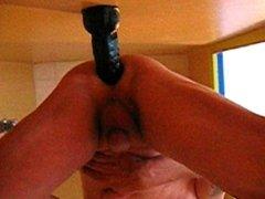 Dildo before ejaculating