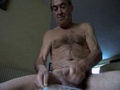 naked spunk wank off