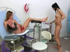 Russian Lesbian babes Gyno-play