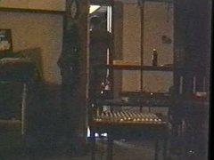 1995 black PVC garter