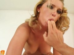 Snow angel sucked and got fucked perfectly