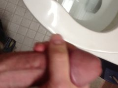 Cum in girls bathroom