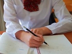 softcore asian schoolgirl tease