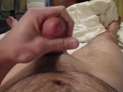 Another Masturbation Cumshot On Belly