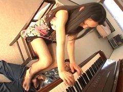 japan pianist girl footjobs