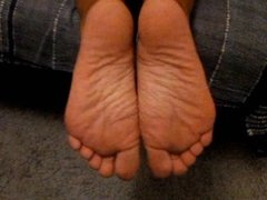 Kelly's smooth wrinkled soles