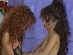 British slut Vida Garman in another lesbian classic scene