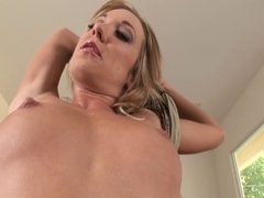 Amy Brooke Takes A Hot Load Up The Butthole