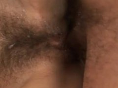 Cumshots on Hairy Pussies BVR