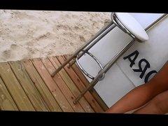 Magrinha na praia