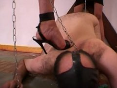 Mistress gives pain for pleasure