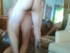 Web Cam Emo Couple Get Nasty