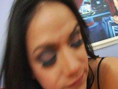 Latina Nadia Styles Savors A Hot DP