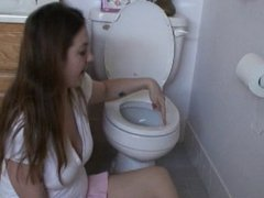 Lick Sexy Princess Toilet Clean, Verbal Humiliation