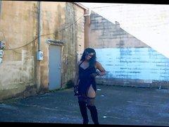 Aurrianna's Sexy Stroll: Little Black Dress Long version