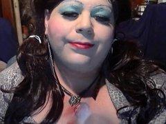 BBW Sissy Diane - Another Smoking vid