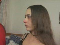 brazilian slut takes BBC in ass