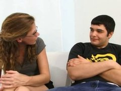 Redhead Nerdy Wife Cuckolds Him With BBC
