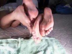 Ebony oily soles