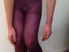 Crossdressing, butt plug, and cumming by request