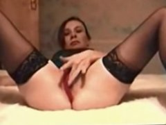 Horny Amateur Brunette In sexy Lingerie