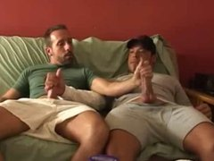 Two Buddies Jackoff