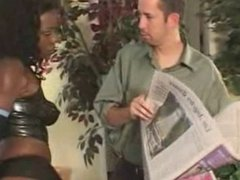 Big Ass Latex Diva Interracial Anal