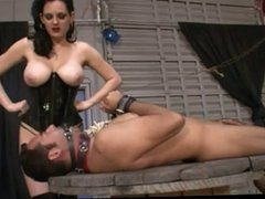 Dominatrix milking day
