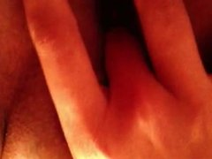 finger my super wet pussy