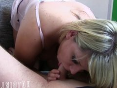 Cumshot - BlowJob - ins Gesicht  German - Deutsch