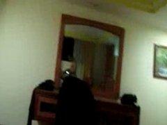 Maduros cogiendo en el hotel