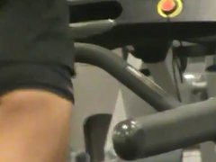 Candid gym ass 2