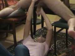 Amazing cock milking, Prostate Play and Facial.