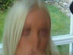Young Blond Czech Gets DP And Facials