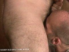 Hairy Muscular Bears Fuck In The Barn
