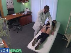 FakeHospital Hot 20s gymnast seduced by doctor