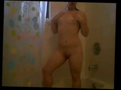 in the shower    htb
