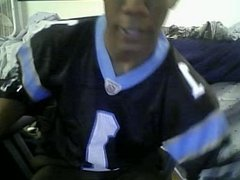 chatroulette male feet 2 - black soccer player